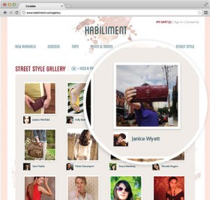 Curalate showcases user-generated content on their product showcase pages